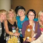 Duffy Brown, Toni Blake, Donna MacMeans, ? and LuAnn